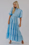 Seas the Day Maxi Dress-Baby Blue