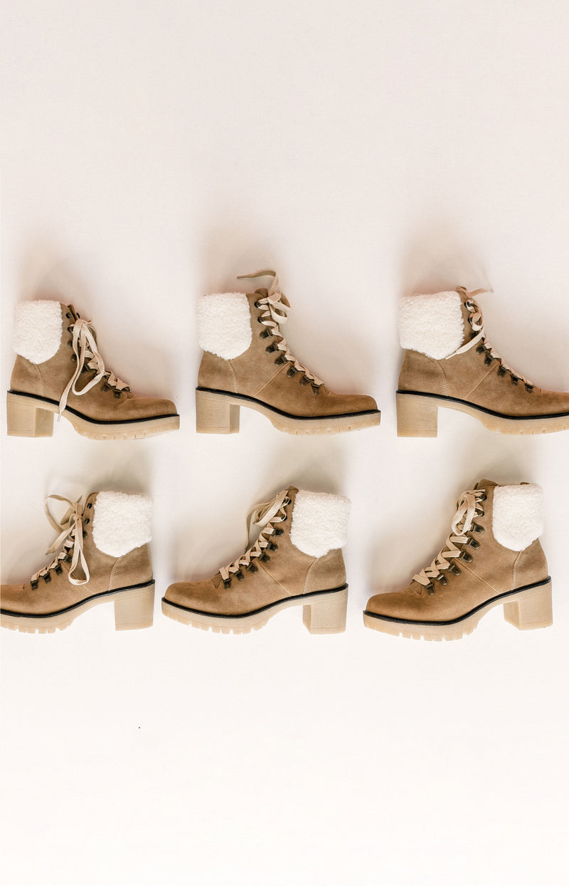 Free People: Sway Low Slouch Boots - Tan