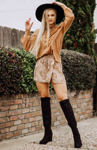 Free People: Every Minute Every Hour Mini Skirt - Noble Abode