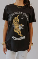 Show Me Your Mumu: Talia Short Sleeve Graphic Tee - Tiger Head