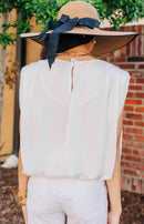 Days Like This Ruffled Tank Top - Ivory