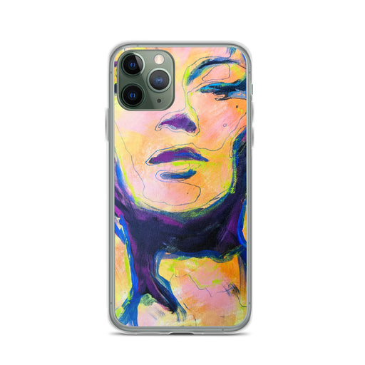 Seeing Abstract iPhone Case - LOVE LUCY FORD ART