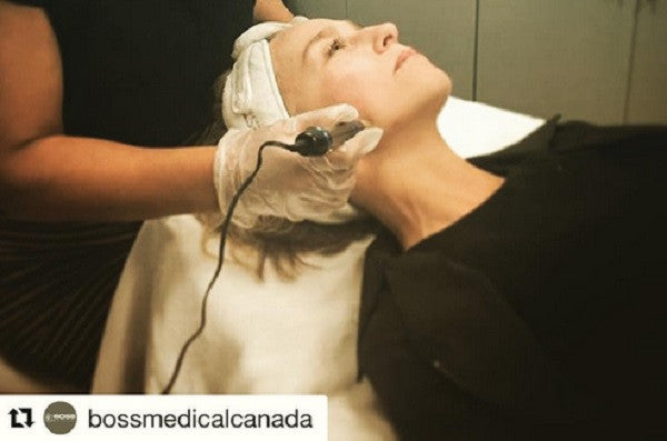 Boss Medical Canada Microneedling Training Session