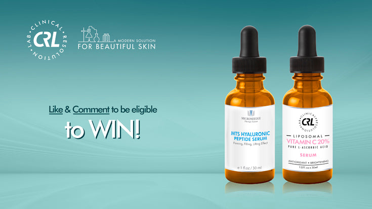 Clinical Resolution Giveaway - Hyaluronic Peptide Serum & Vitamin C 20 Serum
