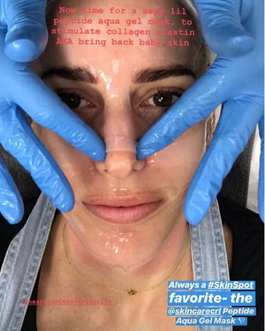 Aqua Gel Mask with The Skin Spot Beverly Hills