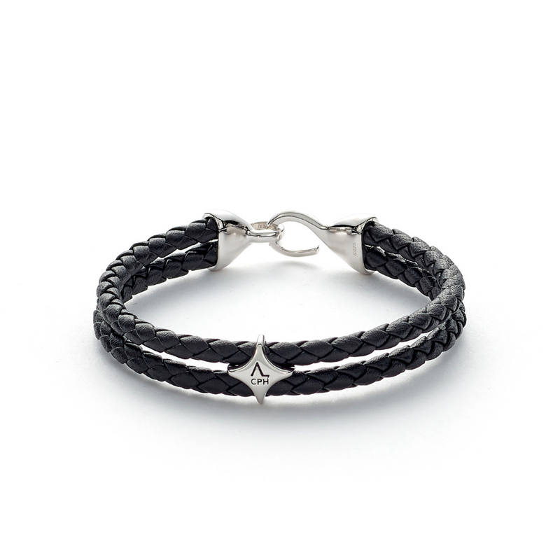 Bolo Leather with Hook Clasp - ALEXANDER LYNGGAARD CPH