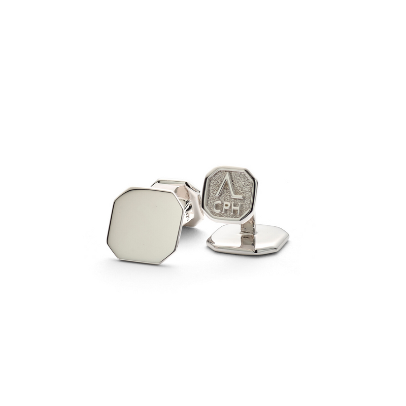 Hope Square Cufflinks Facet