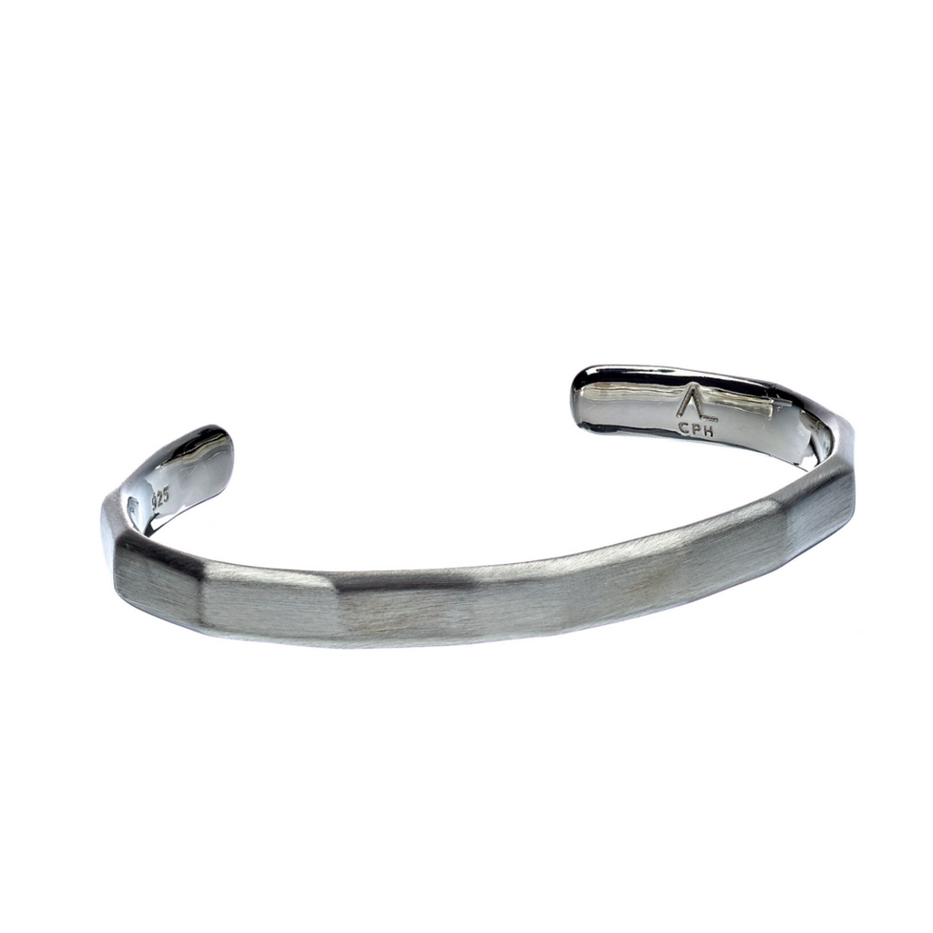 Hope Bangle Facet Matte - ALEXANDER LYNGGAARD CPH