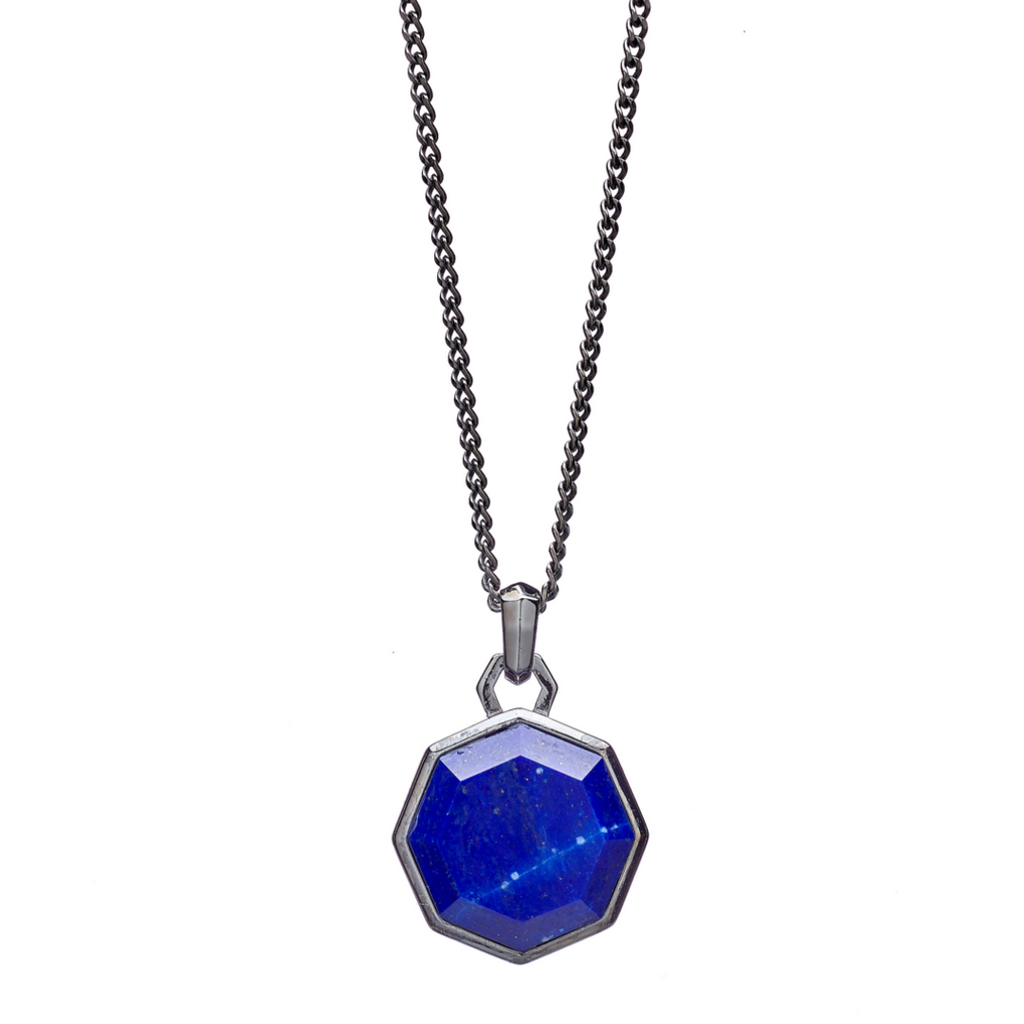 Hope Lapis Facet Necklace - ALEXANDER LYNGGAARD CPH