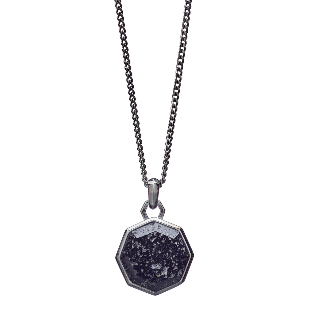 Hope Lava Stone Facet Necklace - ALEXANDER LYNGGAARD CPH