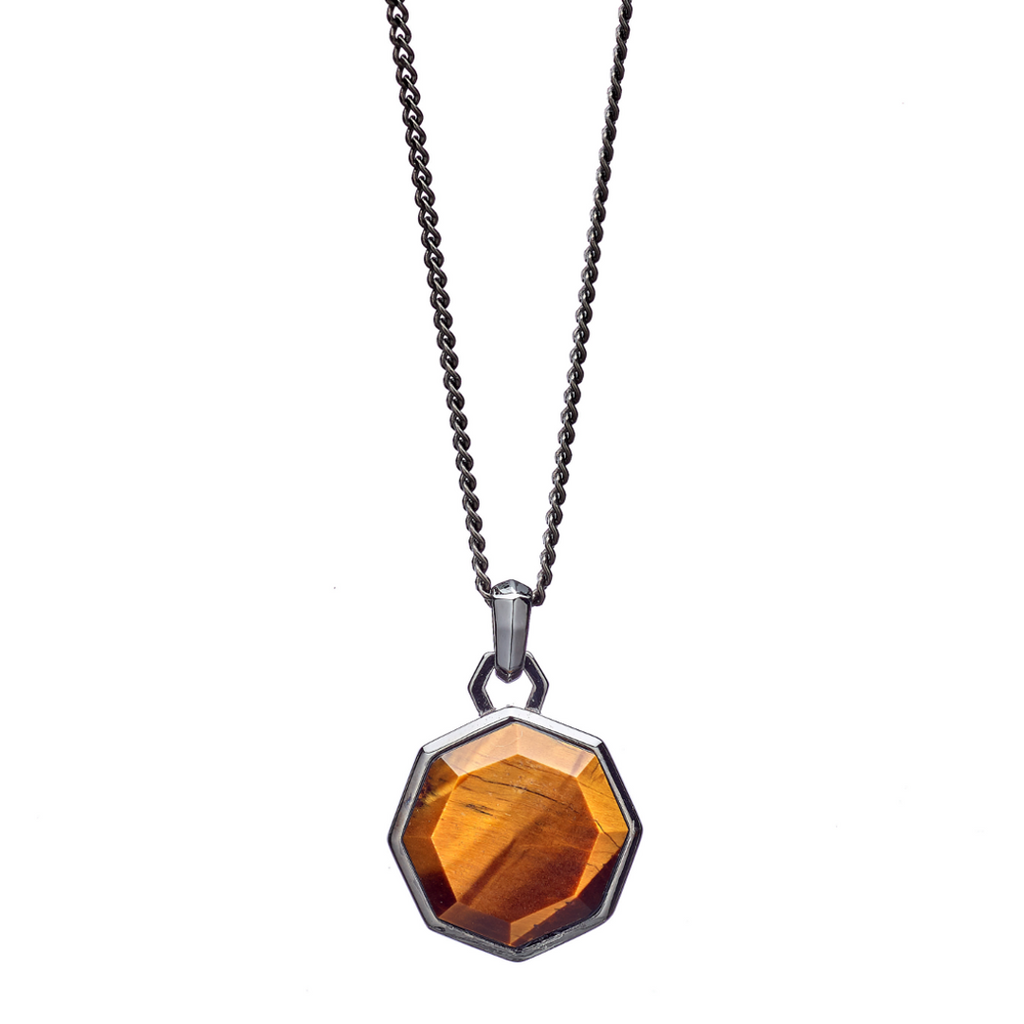 Hope Tigereye Facet Necklace - ALEXANDER LYNGGAARD CPH