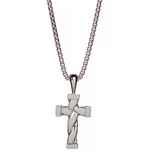 Hope Twisted Cross Necklace