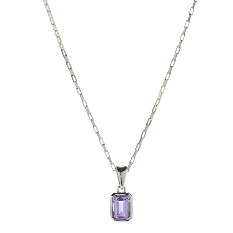 Hope Amethyst Necklace
