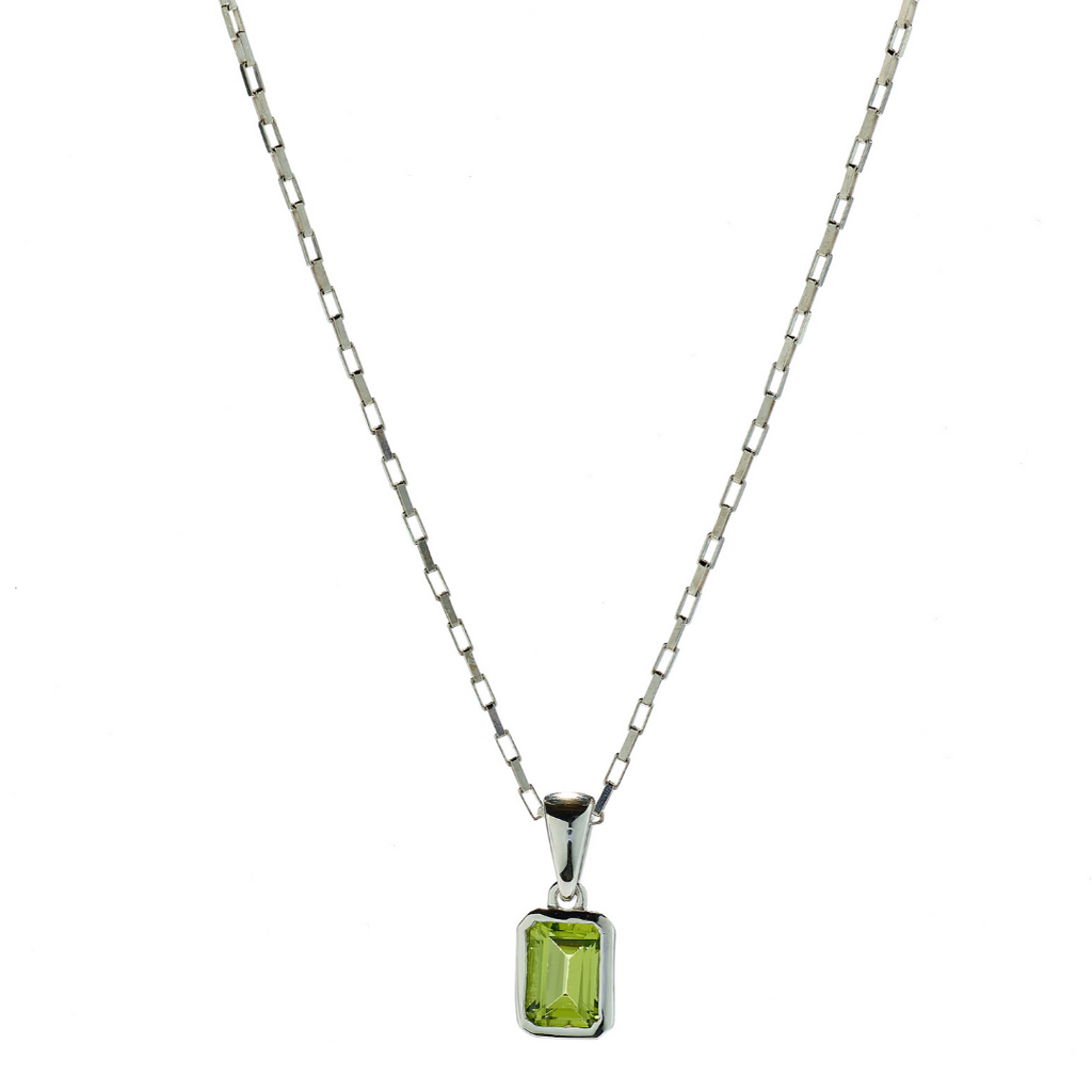 Hope Peridot Necklace