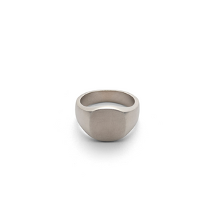 Hope Signet Ring Matte