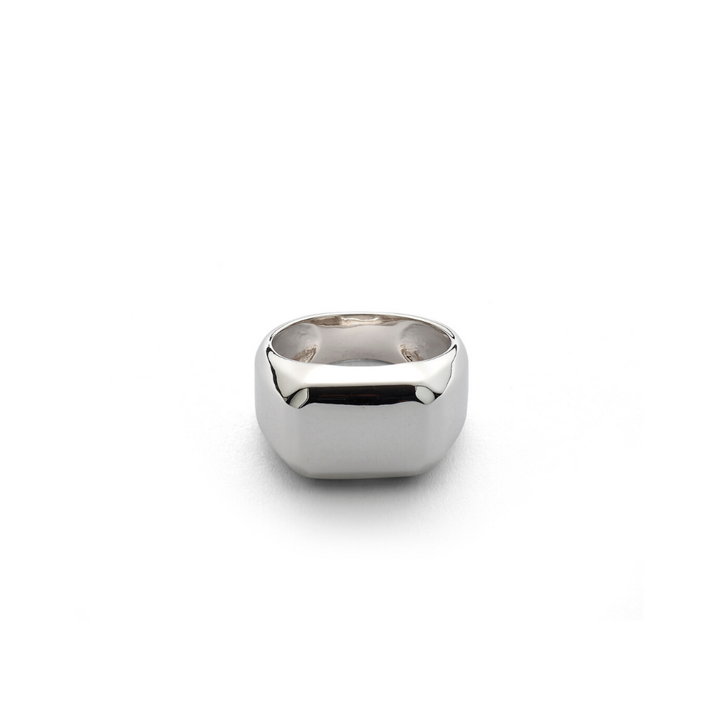 Hope Signet Ring Rectangle