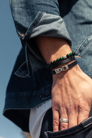 Double Wrap with Hook Clasp - ALEXANDER LYNGGAARD CPH