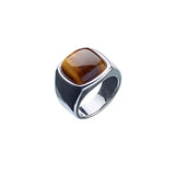 ALEXANDER LYNGGAARD CPH - Hope Signet Ring with Tiger Eye