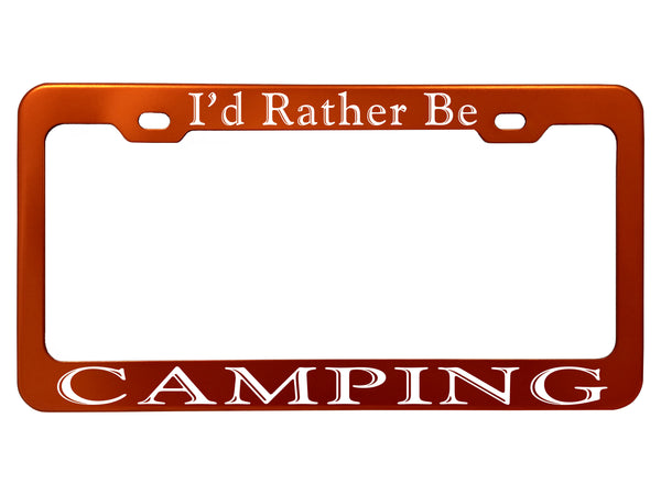 I'd Rather Be - Frames - Anodized Aluminum