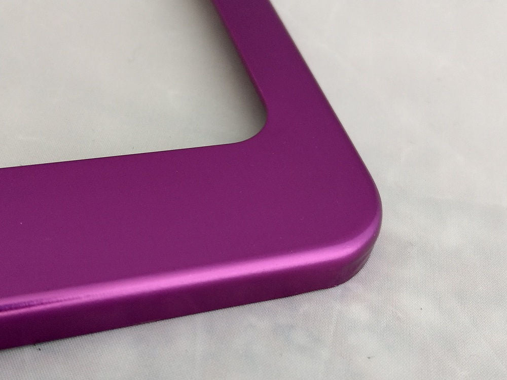 Custom License Plate Frames - Anodized Aluminum | GoPlates