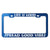 Funny Phase License Plate Frames - Anodized Aluminum