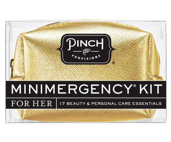 Metallic Minimergency Kit