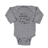 'Dim Sum' Long Sleeve Onesie