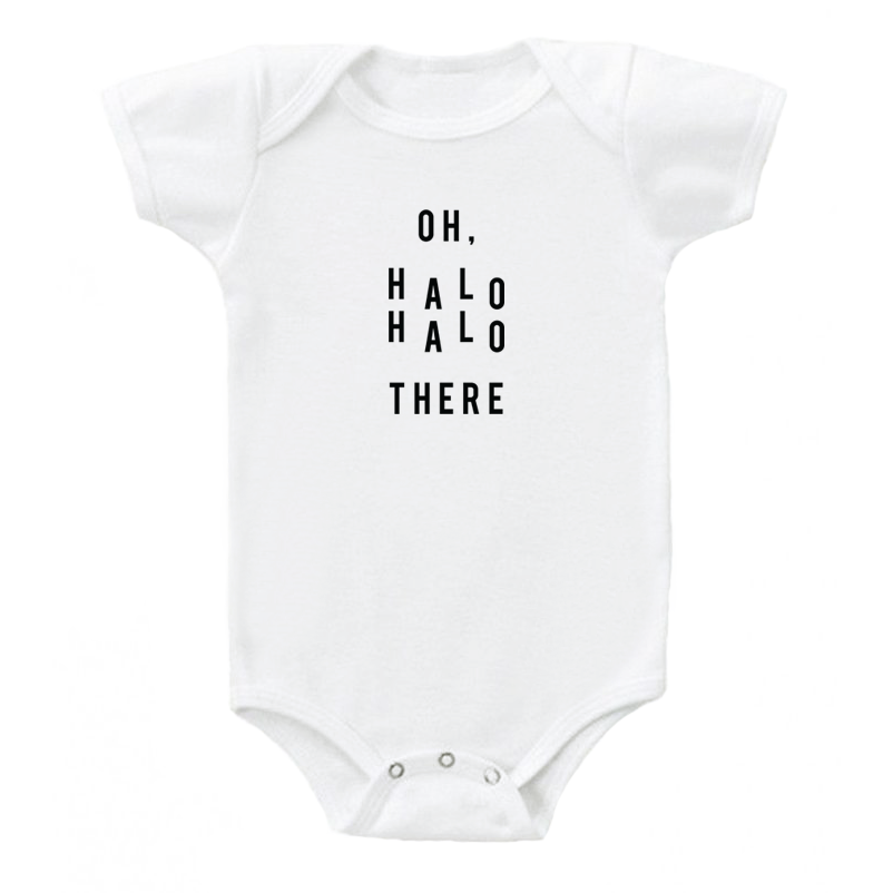'Oh, Halo Halo There' Onesie
