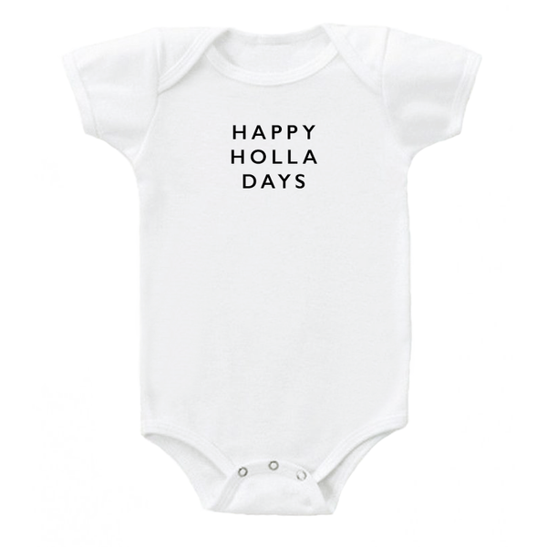 'happy holla days' Onesie