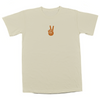 'Peacemaker' Unisex Adult Tee - Cream