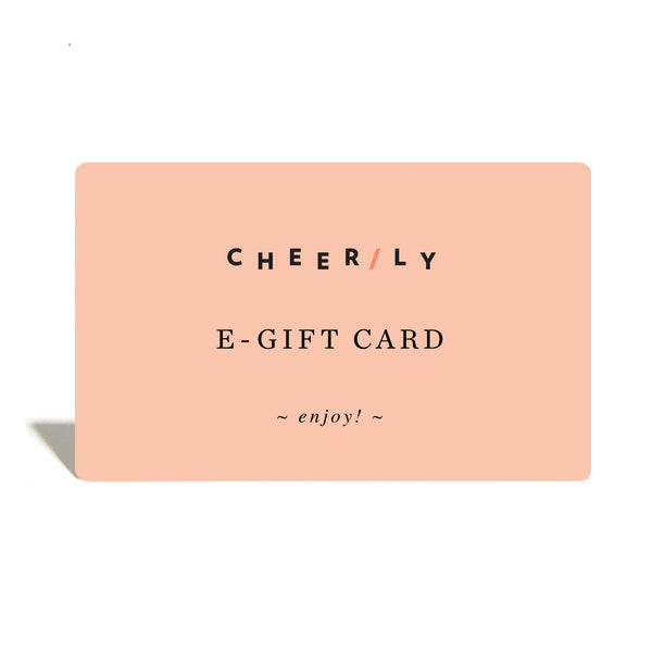 Cheerily e-Gift Card