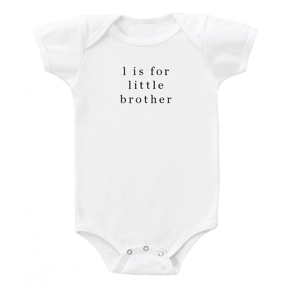 'L is for Little Brother' Onesie