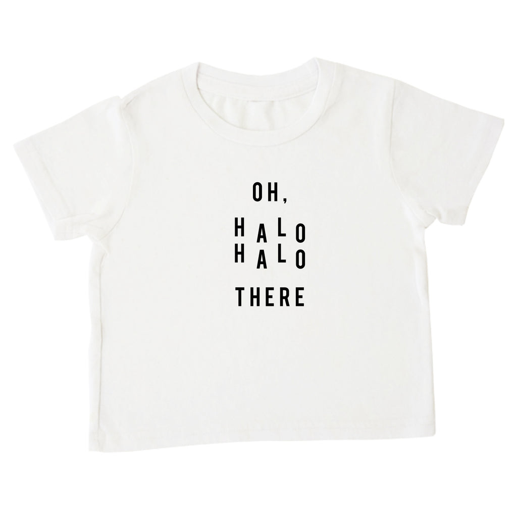 'Oh, Halo Halo There' Tee