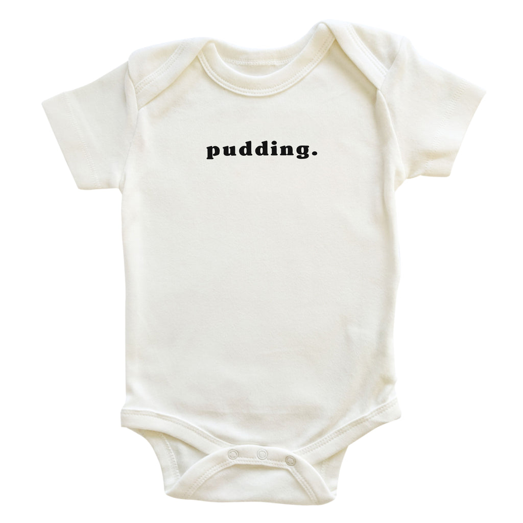 'pudding.' Onesie