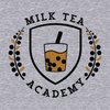 'Milk Tea Academy' Zip-Up Hoodie