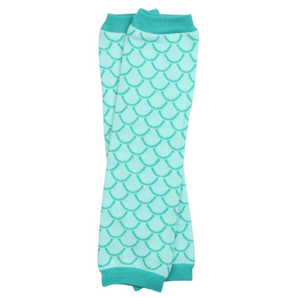 Aqua Mermaid Leg Warmers