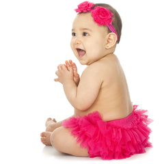 Hot Pink Tutu Diaper Cover