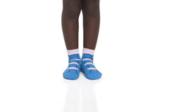 Girl Velcro Ankle Socks 4-Pack