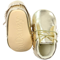 Gold Moccasins