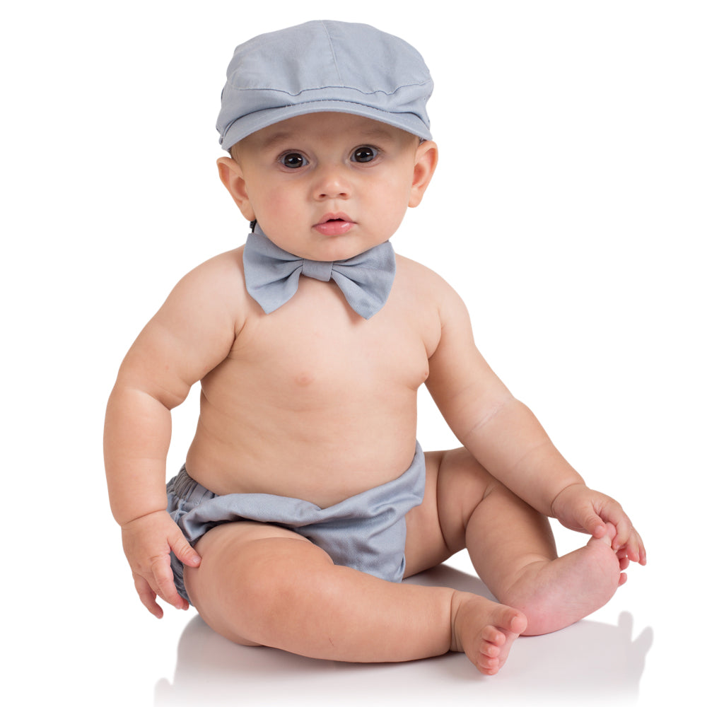 Gray Diaper Cover