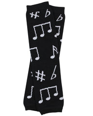 Make Your Own Music Leg Warmers