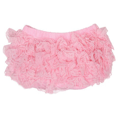 Pink Lace Diaper Cover