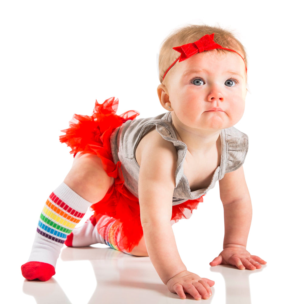Red Chiffon Tutu Diaper Cover