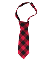 Red Buffalo Plaid Neck Tie