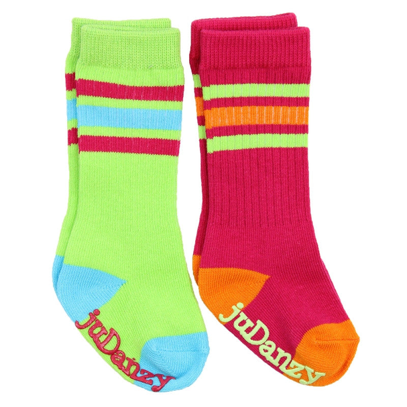 Girl Funky Tube Socks 2-Pack