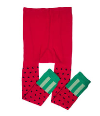 Watermelon Footless Tights