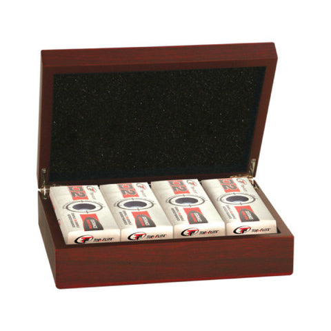 Rosewood Giftbox for Golf Balls