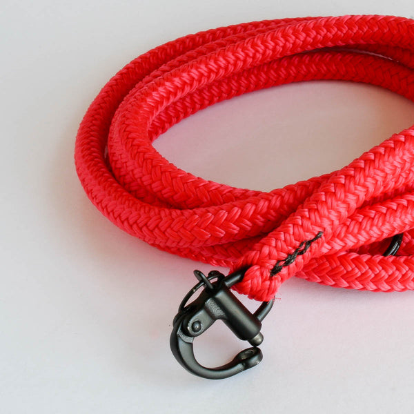 Solid Leash Red | Petite Dog