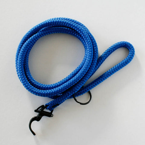 Solid Leash Blue | Petite Dog