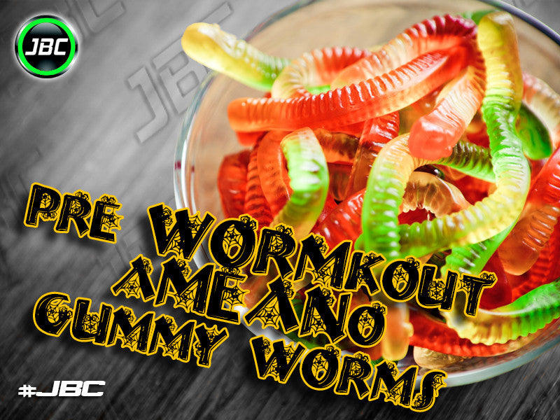 Pre-WORM-kout and a-MEAN-o Gummy Worms
